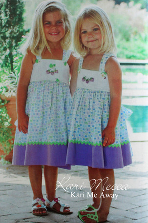 Lace-Up Sundress Sewing Pattern with Kari Berries Embroidery