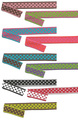 Two-Color Reversible Polka Dot Ribbon