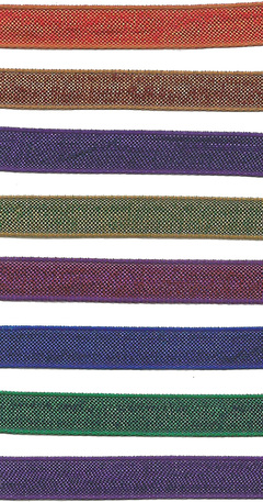 "3/8"" Two Tone Textured Ribbon from Kari Me Away"