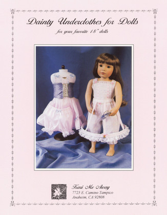 Dainty Underclothes for Dolls by Kari Me Away