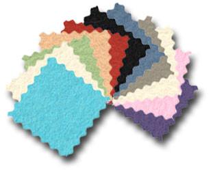 100% Wool felt squares
