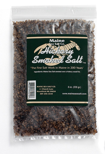 Hickory Smoked Maine Sea Salt, 8 oz