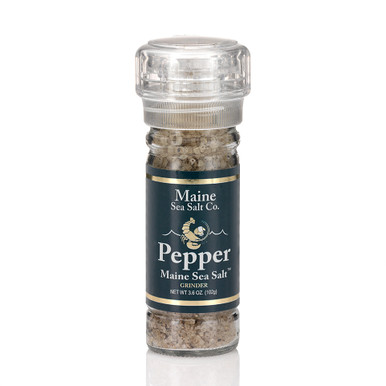 Pepper And Maine Sea Salt