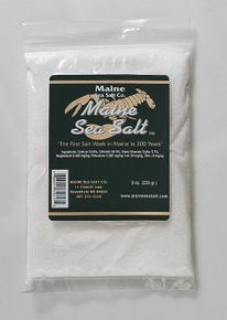 Natural Maine Sea Salt 1 lb bag FINE SIZE