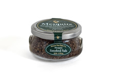 Mesquite Smoked Maine Sea Salt, 6 oz Gift Jar.