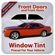 Precut Front Door Tint for Chevy Camaro 1990-1992