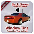 Solar Gard Precut Back Door Tint for Acura EL Only 1997-2000