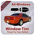Precut window tint kit custom cut for you.