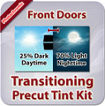 Front Doors Photochromic Tint Film