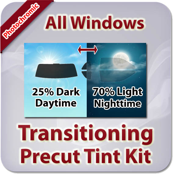 Dodge Challenger Precut Window Tint Kit All Windows