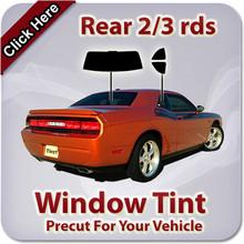 Precut window tint kit custom cut for you.