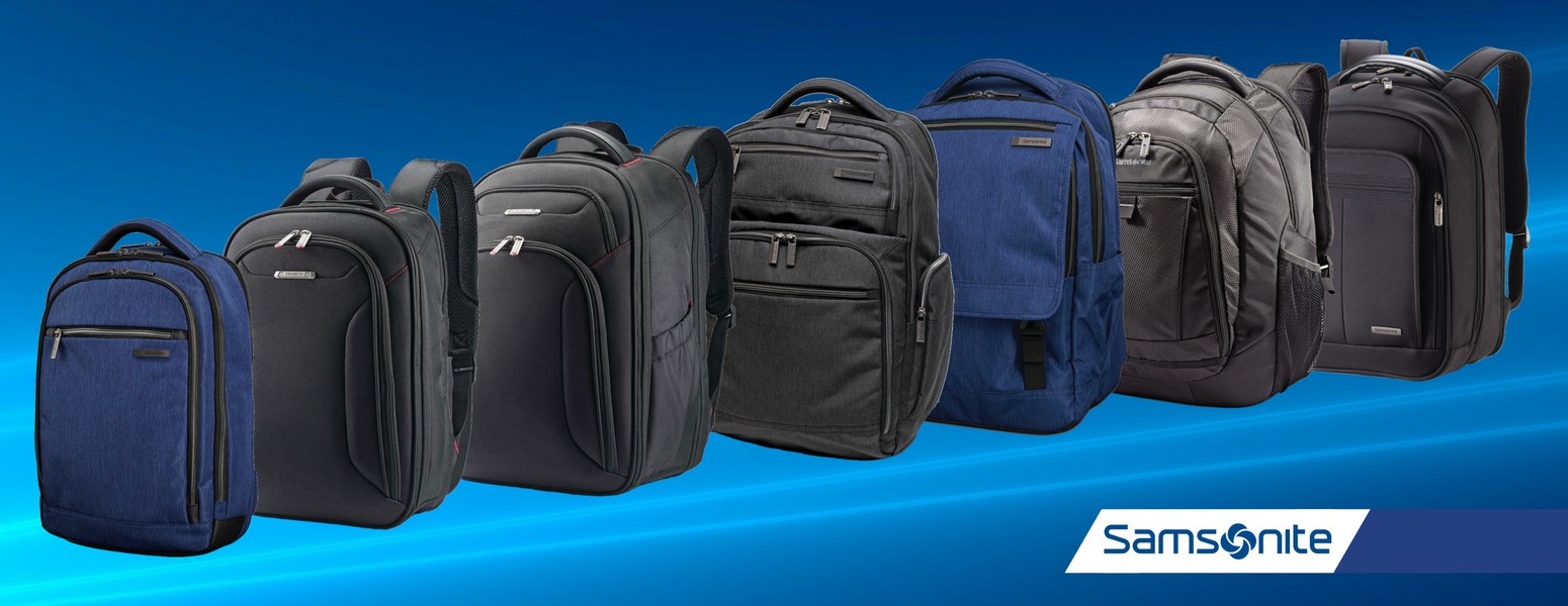 Samsonite Backpacks - TravelSmarts