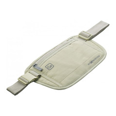 Go Travel RFID Money Belt - Light Grey