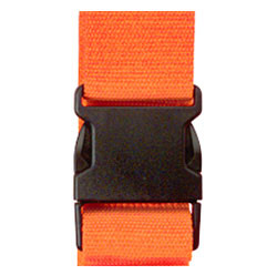 "Voltage Valet 80"" Luggage Strap, Orange"