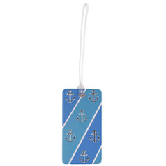 Belle Hop Fashion Luggage Tag, Nautical