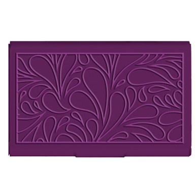 Wellspring Card Case - Mulberry