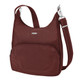 Travelon Anti-Theft Classic Essential Messenger Bag - Wine
