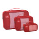 Eagle Creek Pack-It Original Cube Set - XS/S/M - Red Fire