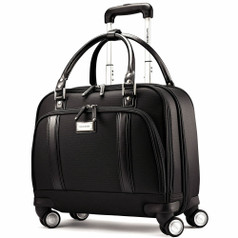 Samsonite Ladies Spinner Mobile Office - Black