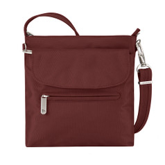 Travelon Anti-Theft Classic Mini Shoulder Bag - Wine