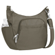 Travelon Anti-Theft Classic Crossbody Bucket Bag - Nutmeg