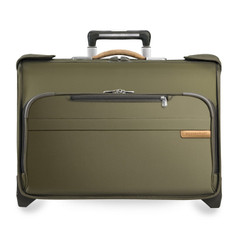 Briggs & Riley Baseline Carry-On Wheeled Garment Bag - Olive