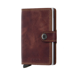 Secrid Miniwallet, Vintage - Brown