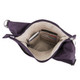 Travelon Anti-Theft Classic Light Drape Front Shoulder Bag - Purple