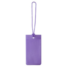 Lewis N Clark Jelly Luggage Tags  - Purple