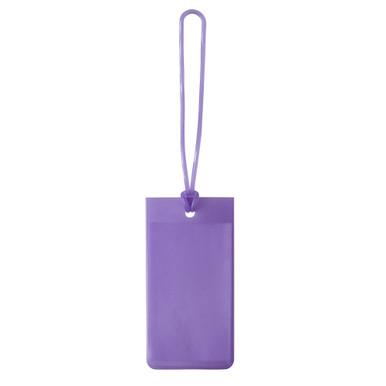 Lewis N Clark Jelly Luggage Tags  - Purple