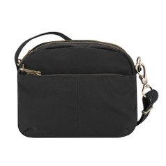 Travelon Anti-Theft Signature E/W Shoulder Bag - Black
