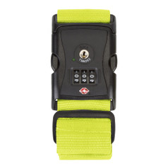 Travelon Luggage Strap with TSA Lock - Lime