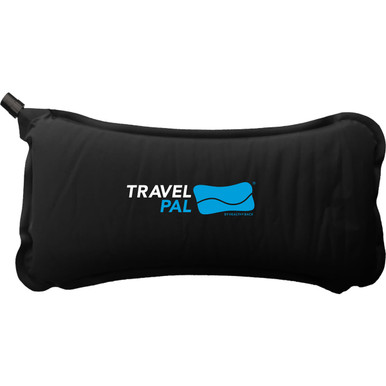 Travel PAL Self-Inflating Back Pillow - Black