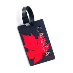 Canadian Tourister Luggage Tag - Maple Leaf