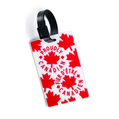 Canadian Tourister Luggage Tag - Proud Leaf