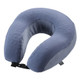 Lewis N Clark Cooling Gel Memory Foam Neck Pillow - Gray