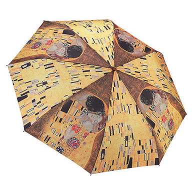 "Galleria Folding 48"" Umbrella - Klimt's ""The Kiss"""