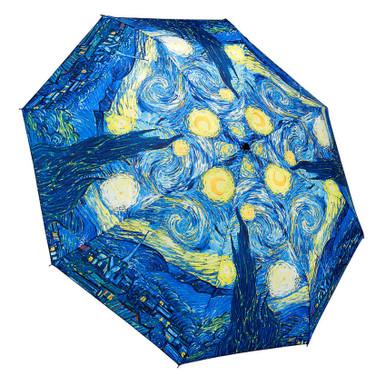 "Galleria Folding 48"" Umbrella - Van Gogh's Starry Night"