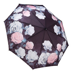 "Galleria Folding 48"" Umbrella - Vintage Roses"