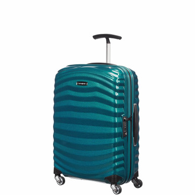 Samsonite Lite-Shock Spinner Carry-On - Petroblue