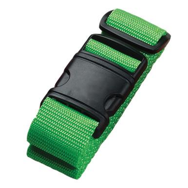 Lewis N Clark Neon Luggage Belt - Green