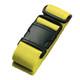 Lewis N Clark Neon Luggage Belt - Yellow