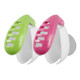 Travelon Set of 2 Anti-Bacterial Toothbrush Covers - Pink/Green