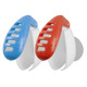 Travelon Set of 2 Anti-Bacterial Toothbrush Covers - Red/Blue