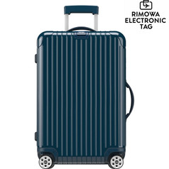 "Rimowa Salsa Deluxe 30"" Multiwheel, Electronic Tag - Yachting Blue"