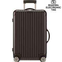 "Rimowa Salsa Deluxe - 32"" Multiwheel, Electronic Tag - Granite Brown"