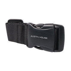 Austin House Add-A-Bag Luggage Strap - Black