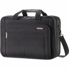 Samsonite Classic 2 - 3 Gusset TSA Briefcase (w/ RFID) - Black