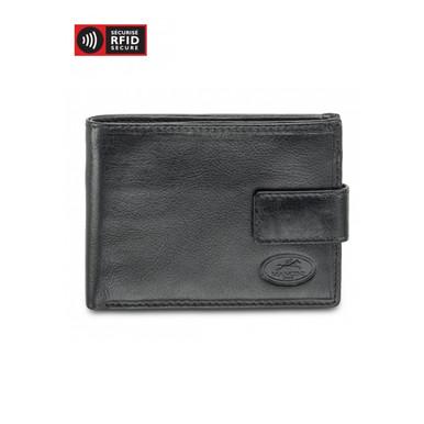 Mancini Equestrian 2 - Men's Wallet w/ Coin Purse (RFID) - Black
