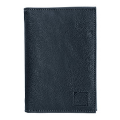 Lewis N Clark RFID-Blocking Leather Passport Case - Black